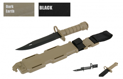 Entusiasta Cyma-fittizia Coltello Bayonet M4 M16 Gomma Plastica Tactical Krav Finta Finta-