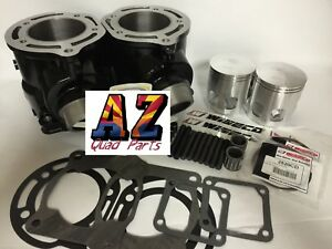 Yamaha Banshee OEM Replacement Stock Bore 64mm Cylinders Cylinder Pair Set