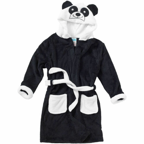 Girls Boys Childrens Animal Novelty Fleece Dressing Gown//Robe Age 2-12 Years