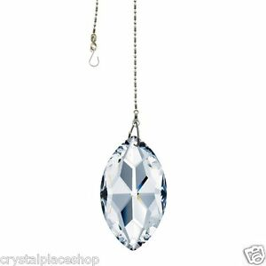 New-Swarovski-Crystal-50mm-Clear-Sun-Catcher-Charm-Ornament-Prism-Necklace-8746