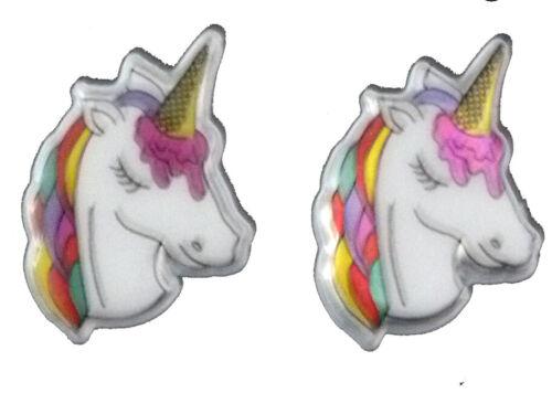 Magnetisch Oder Ohrstecker Clip Auf Neuheit Einhorn Ohrringe Ideal Kinder