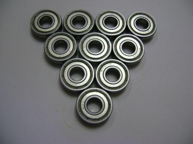 10 NMD 6802-2RS Bearings 15x24x5 ID=15mm OD=24mm WIDTH=5mm 15-24-5