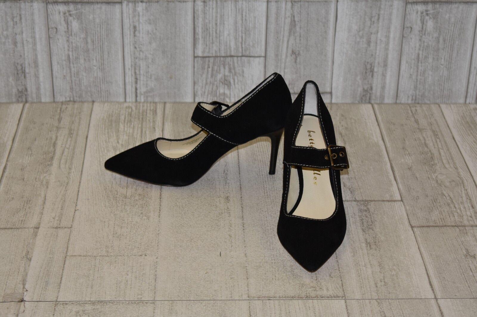 Bettye Muller Gibbs Heels, Women's Size 7.5 M, Black