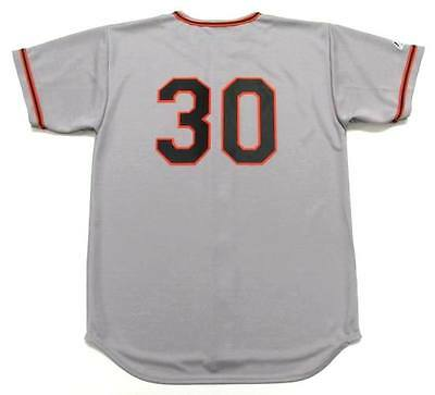 ORLANDO CEPEDA San Francisco Giants 1960's Majestic Throwback Baseball Jersey