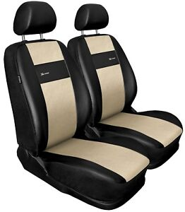 full set black//grey leatherette Car seat covers fit OPEL VECTRA C