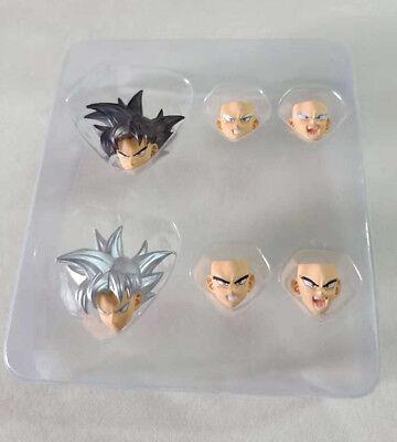 Dragon Ball Ultra Instinct Son Goku Head Sculpt Accessories Torankusu FitFor SHF