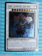 Yu-gi-oh Loki, Lord Of The Aesir STOR-EN039 Ultimate Rare Mint 1st Edition New
