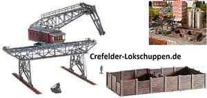 Faller 120163 puente grua 230x201x250mm con kohlebansen 189x100x31mm nuevo embalaje original