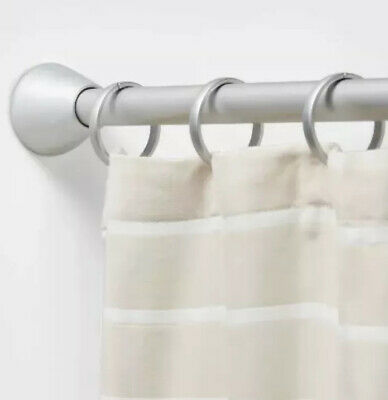 Tension Aluminum Shower Curtain Rod, Tension Shower Curtain Rods Target