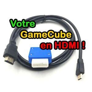 Adaptateur Mini HDMI pour Nintendo Gamecube avec câble HDMI