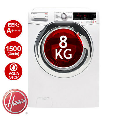 HOOVER AOXD G58AHC7-84 Waschmaschine EEK: A+++ - 40% 8 kg NFC-Technologie