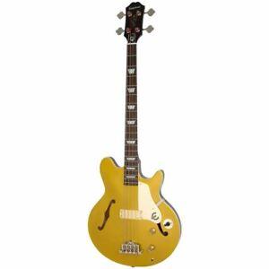 EPIPHONE Jack Casady Metallic Gold - Electric Bass