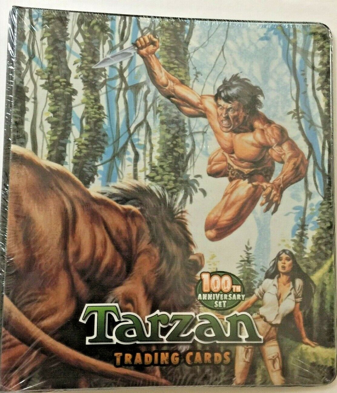 Cryptozoic Tarzan 100th Anniversary Set Binder with Exclusive Cards