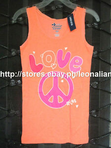 47-OFF-AUTH-OLD-NAVY-GIRLS-LOVE-PEACE-RULES-GRAPHIC-TANK-TOP-5-6-YRS-BNWT-9-94