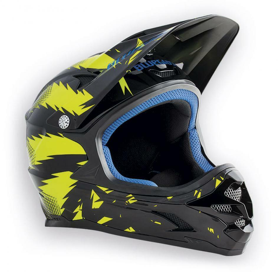 Casco integrale blueEGRASS black yellow taglia M 56-58 cm BMX DH ENDURO MTB
