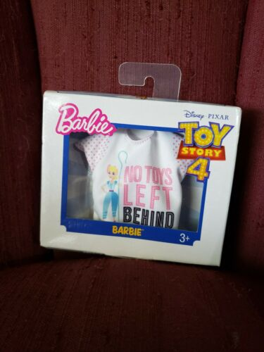 TOY STORY 4 Barbie Clothes Lot 4 Fashion Packs NEW woody friends bo peep alien