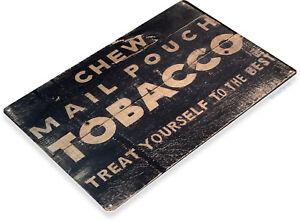 TIN SIGN Chew Copenhagen Snuff Tobacco Metal Décor Art Shop Store Bar A291