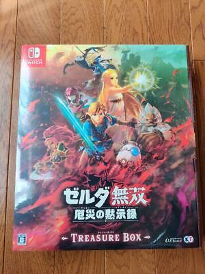 Nintendo Switch New Hyrule Warriors Age Of Calamity Treasure Box Limited Edition Ebay