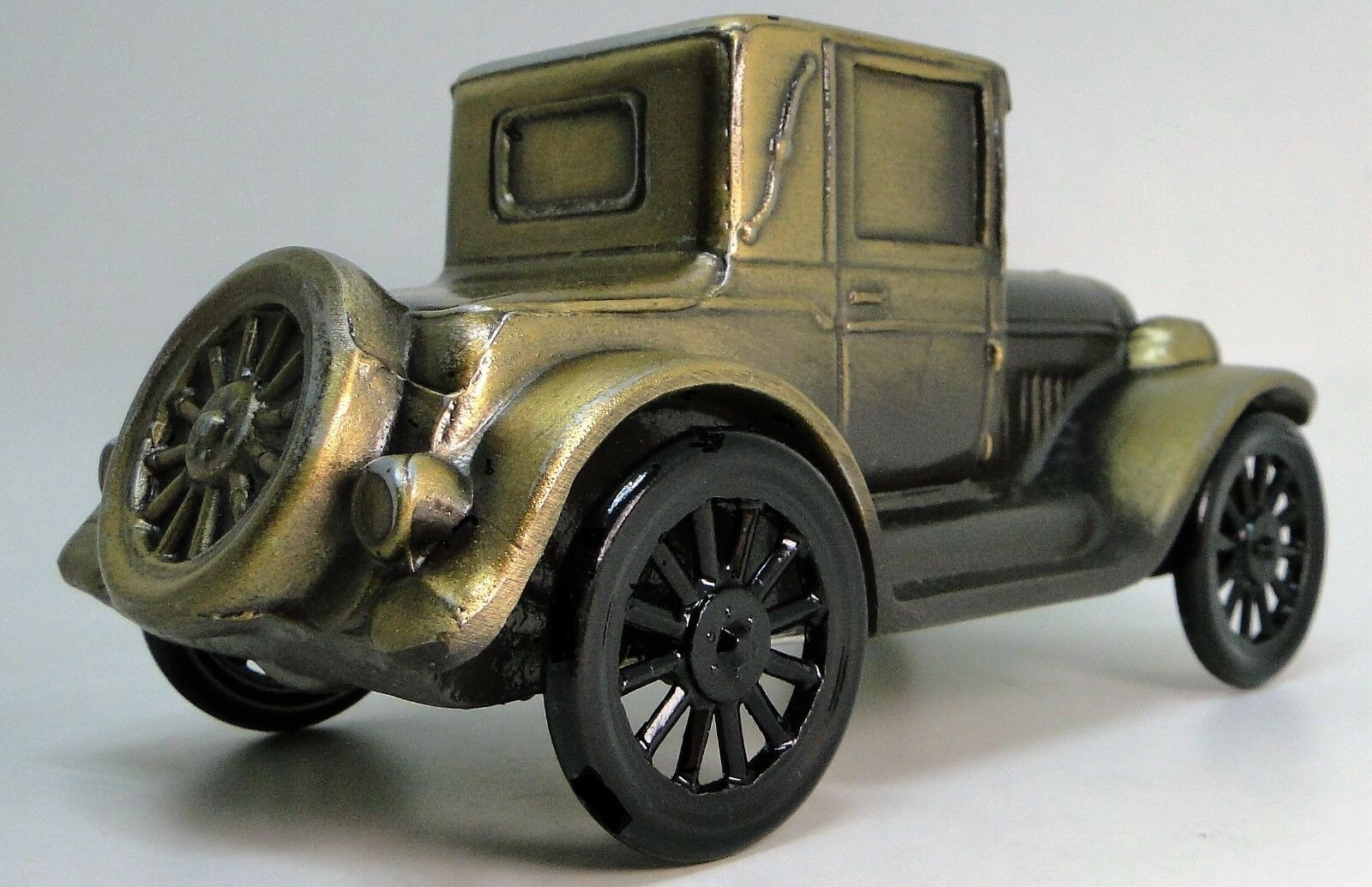 Antique Vintage GT  A Ford Model T Car 18 Metal 12 Bronze 43 Rare 1 24