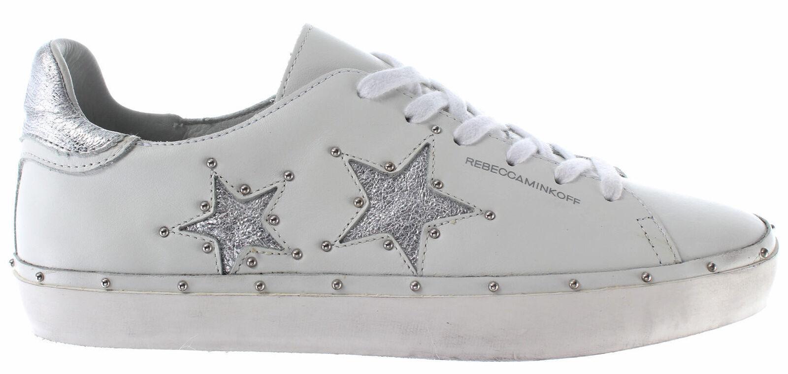 Scarpe Donna scarpe da ginnastica REBECCA MINKOFF RMMILT01WHSV Michell Nappa bianca Low New | Special Compro  | Scolaro/Ragazze Scarpa