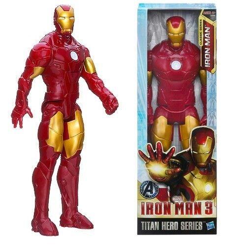 Marvel The Avengers Superheld Iron Man Action Figur PVC Spielzeug Geschenk 30cm