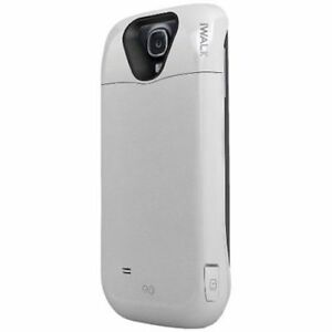 best loved 6d963 73b18 Details about iWALK PCC3000GS4-WHT Chameleon Power Case For Samsung Galaxy  S4 (White)