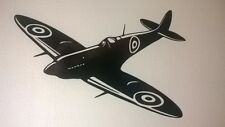 spitfire fighter plane world war pilot soldier army wall art vinyl sticker decal