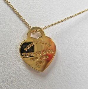 Tiffany-amp-Co-Return-to-Tiffany-18K-Yellow-Gold-20mm-Medium-Heart-Necklace-SALE