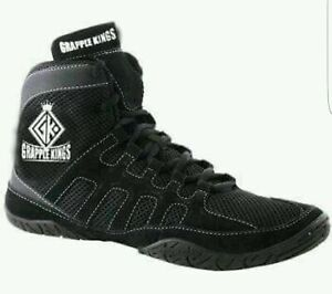 Wrestling MMA Chaussures Baskets Bottes Boxe Taille 5-12 UK