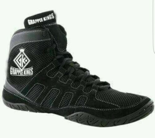 GRAPPLE KINGS  WRESTLING MMA SHOES TRAINERS BOOTS BOXING SIZE 5-12 UK
