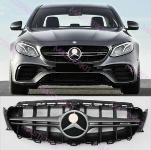 mercedes benz 2016 2018 w213 e class grill matt silver. Black Bedroom Furniture Sets. Home Design Ideas