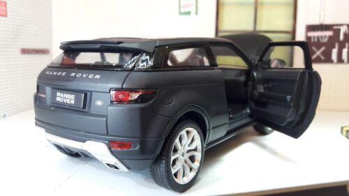 Land Range Rover Evoque Welly 1:24 Scale Diecast Detailed Engine Interior Model
