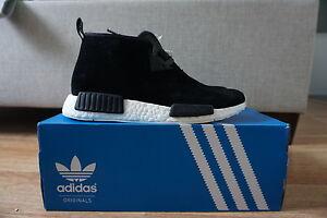 sports shoes ba82a 8b45b Image is loading Adidas-NMD-Chukka-C1-Black-Chalk-White-S79146-