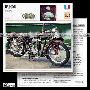 022-08-RADIOR-500-ASSC-1929-Fiche-Moto-Classic-1920-039-s-Motorcycle-Card