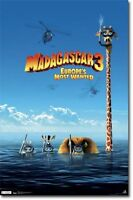 Animated Movie Poster Madagascar 3 Europe's Most Wanted Movie Poster