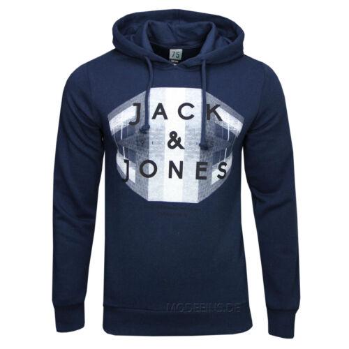 XL L M Jack /& Jones con cappuccio Felpe Stone HOOD tg S