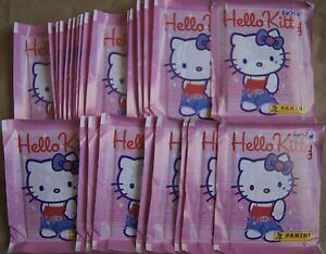 Italy Panini Hello Kitty Fashion Sticker Pack x50