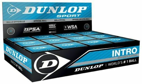 Dunlop Squash Intro Squash Ball Blue Dot