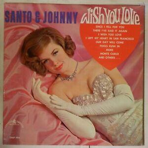 Santo-amp-Johnny-Wish-You-Love-1964-CANADIAN-amp-AMERICAN-REC-CALP-1016-NM-Vinyl-LP