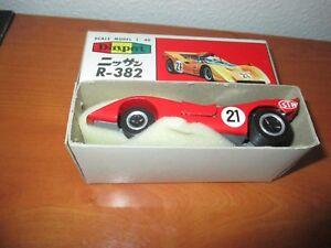 Yonezawa Toys N° 210 Nissan R 382 Echelle 1 / 40 Epoque Amr