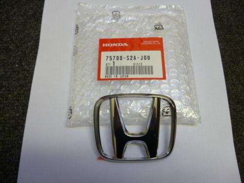 GENUINE HONDA S2000 BONNET BADGE 2002-2009