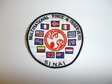 b1504 Multinational Force & Observers Sinai patch IR18A
