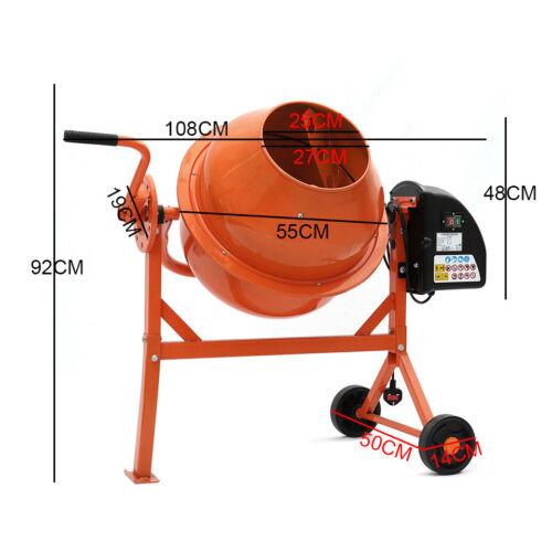 research.unir.net Electric Cement Concrete Mixer 63/120/140 Litre ...
