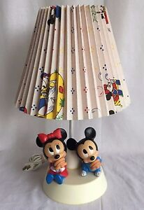 vintage 1984 walt disney baby mickey minnie mouse nursery. Black Bedroom Furniture Sets. Home Design Ideas