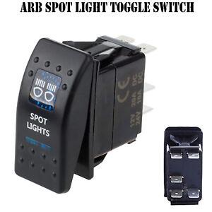 Spot-Light-12V-ARB-Carling-Rocker-Waterproof-Toggle-Switch-Blue-LED-Car-Boat-AU