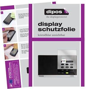 3x Technisat Digitradio 215 Film De Protection D'écran Protecteur Clair Dipos Retarder La SéNilité