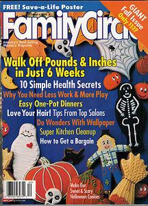 Family Circle 1998 Halloween Cookies Wallpaper Delta Burke ...
