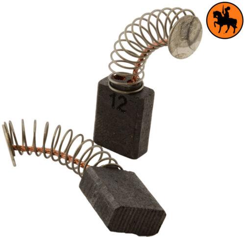 5x10x12.5mm Kohlebürste METABO BHE 24 Contact hammer Mit Auto Stopp