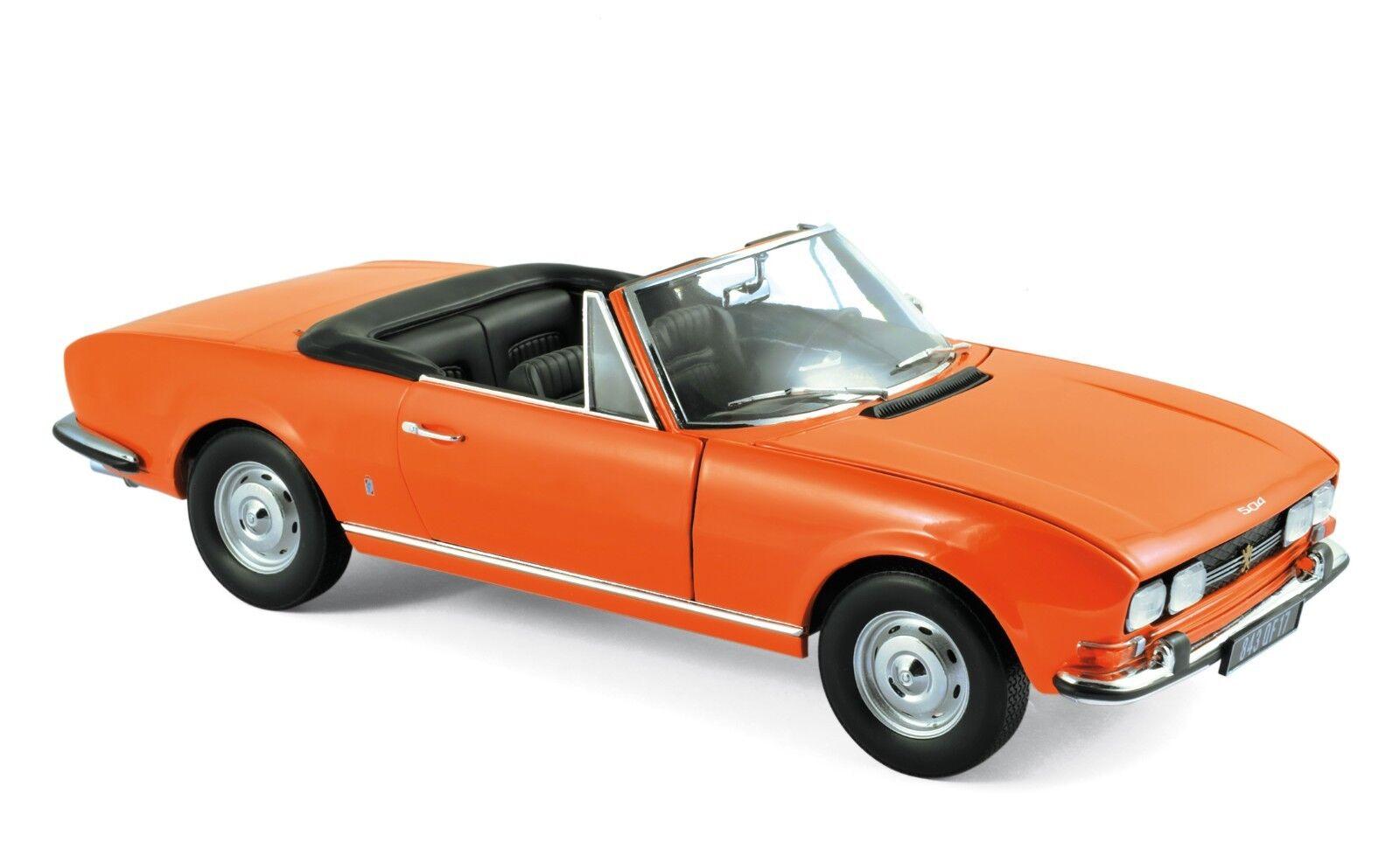 NOREV 184826  Peugeot 504 Cabriolet 1970 Capucine gituttio 118
