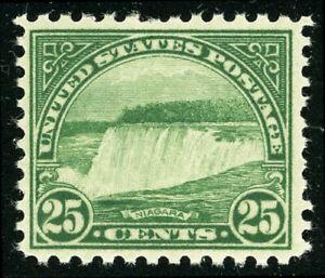 US-Scott-699-Niagra-Falls-25-Perf-11-x-10-1-2-1931-MNH